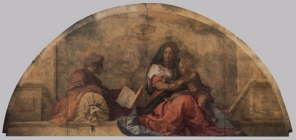Madonna del sacco Madonna with the Sack WGA